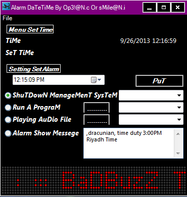 BaDBuzz TM Alarm DateTime Untitl44