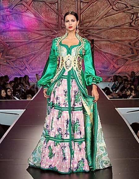 Caftan Marocain mode demonstration modeles Caftan13
