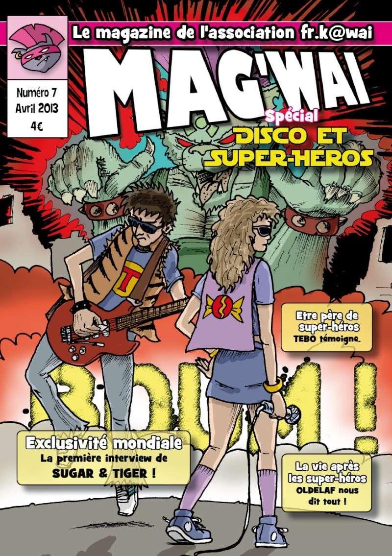 Vente du Mag'wai - le magazine de l'association FR.K@wai Mag710