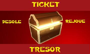 Jouer au Ticket Trésor! Ticket13