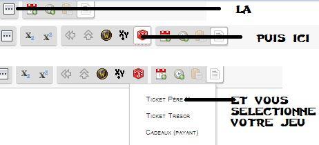Jouer au Ticket Trésor! Tuto10