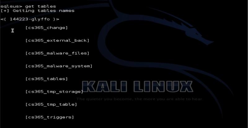 Tutorial sqlsus para Kali Linux Sqlsus17