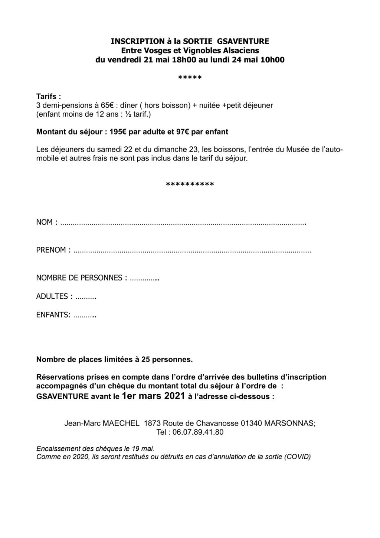 Sortie Alsace du 21 au 24 mai 2021. Entre Vosges & Vignobles alsaciens Page_123