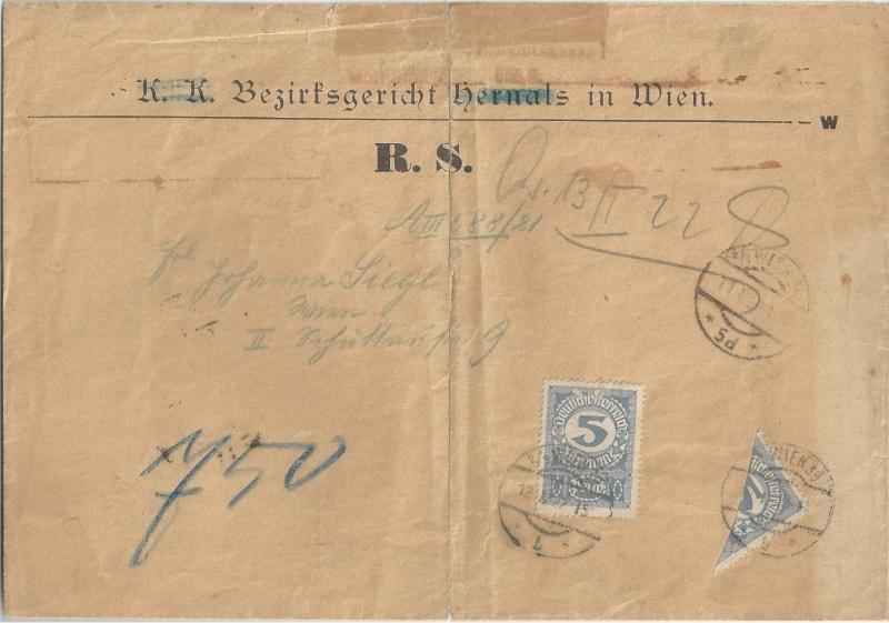 Inflation in Österreich - Belege - 1918 bis 1925 - Seite 2 Bild10