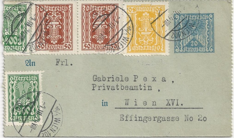 Inflation in Österreich - Belege - 1918 bis 1925 - Seite 2 Bild11