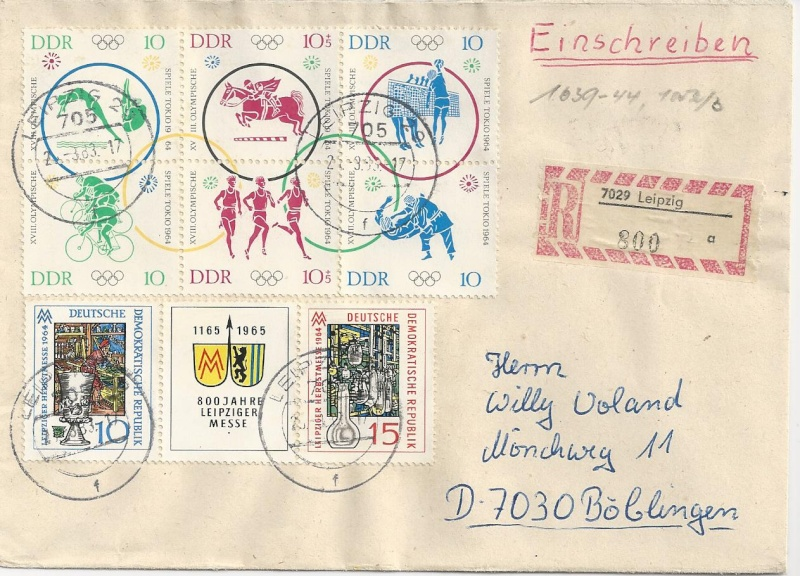 Olympische Spiele der Deutschen Post der DDR  Bild_210