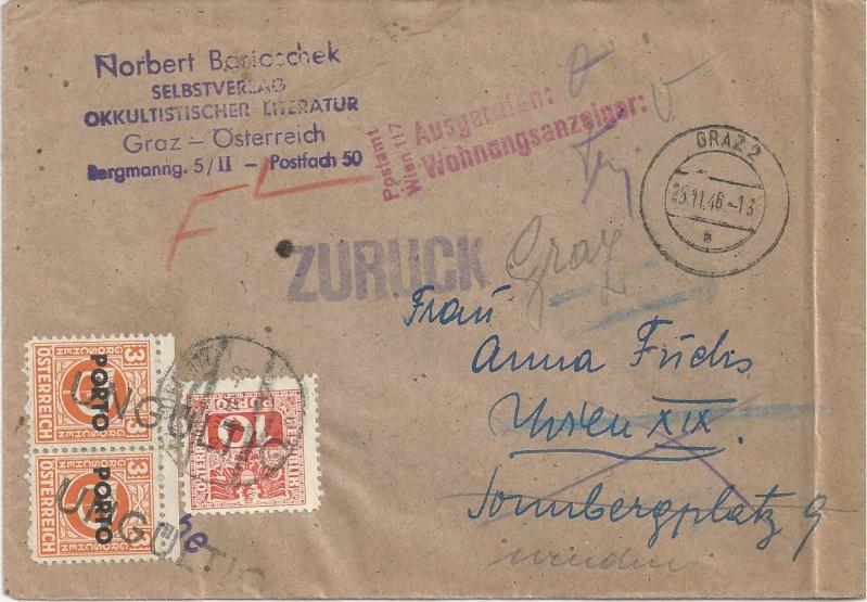 Verwendung von Portomarken in Österreich Bild_310