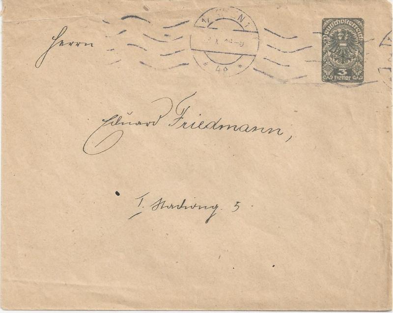 Inflation in Österreich - Belege - 1918 bis 1925 - Seite 2 Bild_413