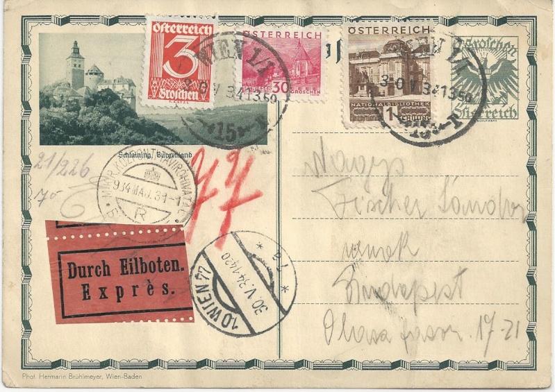 Österreichische Rohrpost der 1. Republik Bild_511