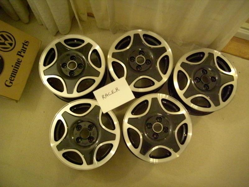 ultra rare genuine new vw wheels set of 5 Pict0611