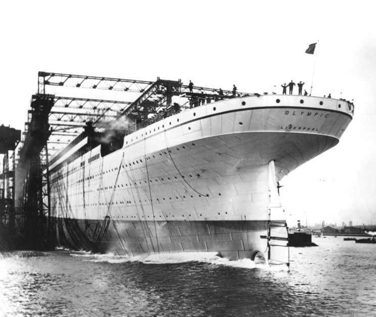 RMS Olympic & RMS Titanic - die zwei Schwestern 06_oly10