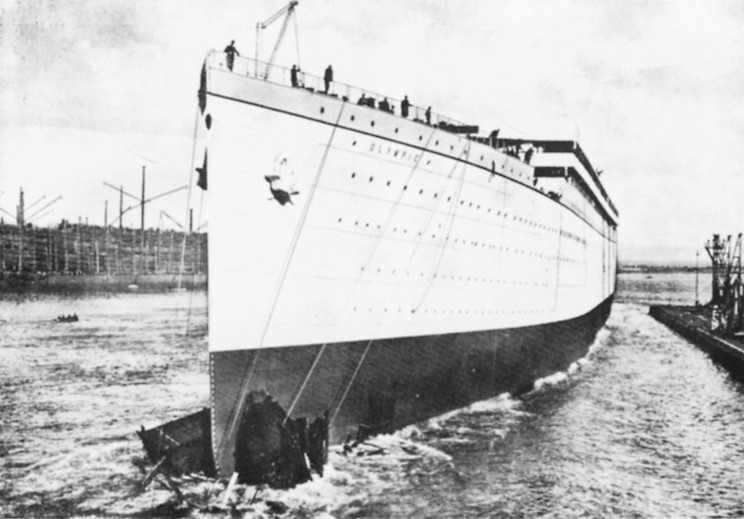 RMS Olympic & RMS Titanic - die zwei Schwestern 07_oly10