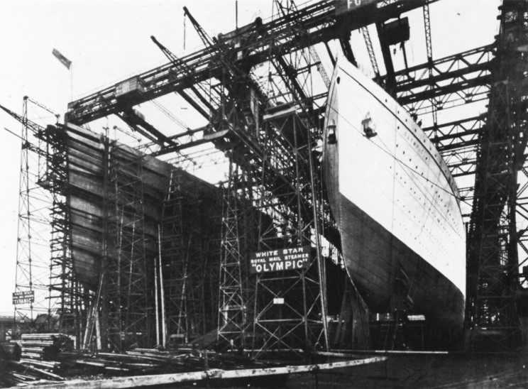RMS Olympic & RMS Titanic - die zwei Schwestern 09_tit10