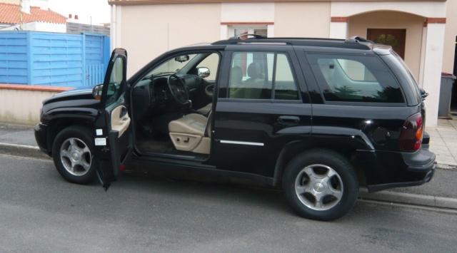 {VENDU} Chevrolet Trailblazer 2005. 6 cyl/4.2 L/ 273 CV/GPL  P1040711