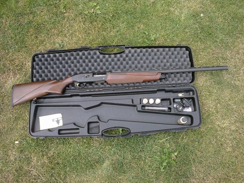 nouvelle acquisition Browning fusion evolve 10082010