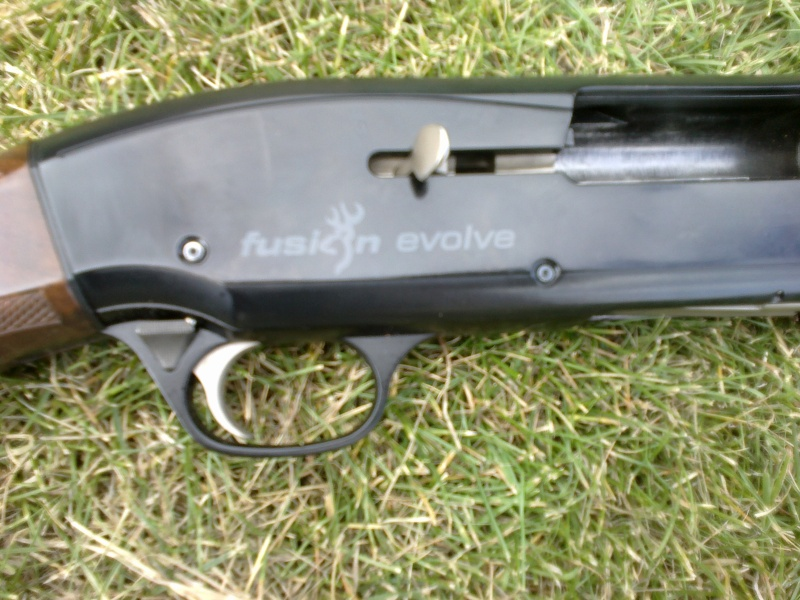 nouvelle acquisition Browning fusion evolve 10082011