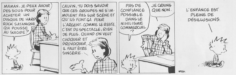 Humour, conneries, poubelle. - Page 20 Calvin10