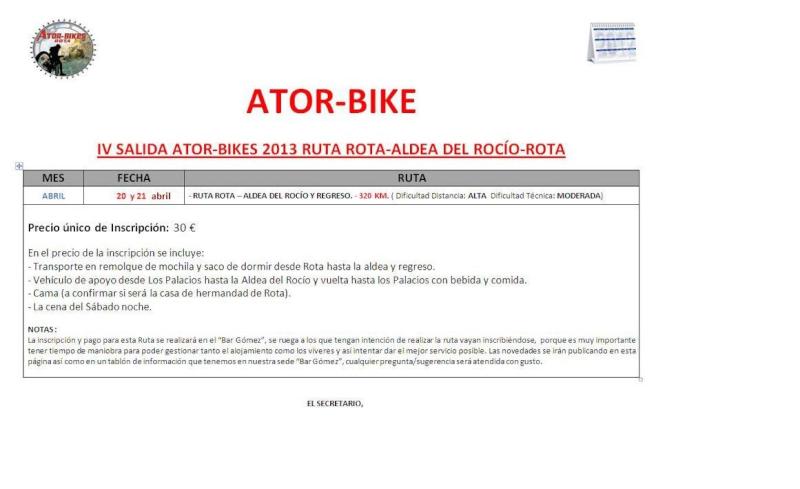 IV Salida Ator-bikes 2013 Ruta Rota-Aldea del Rocio-Rota Rota11