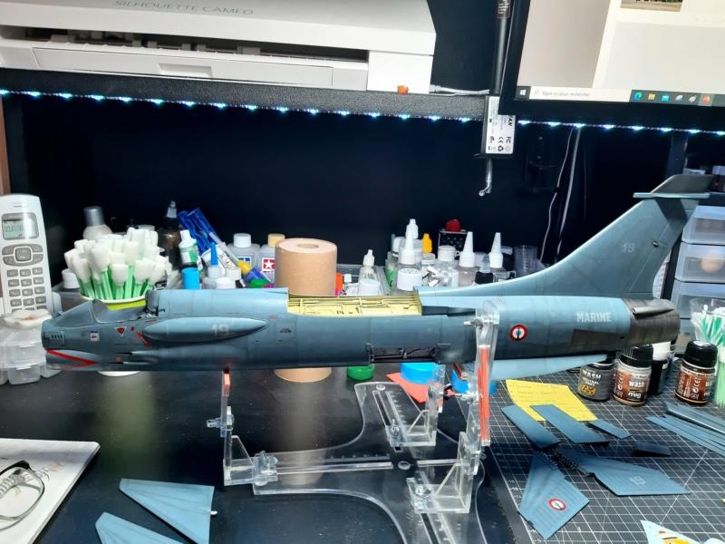 F-8P (FN) Crusader trumpeter 1/32 20210711