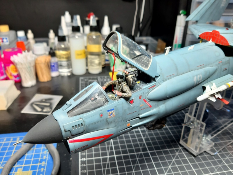 F-8P (FN) Crusader trumpeter 1/32 20210712