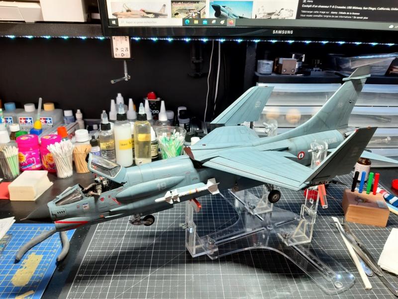 F-8P (FN) Crusader trumpeter 1/32 20210713
