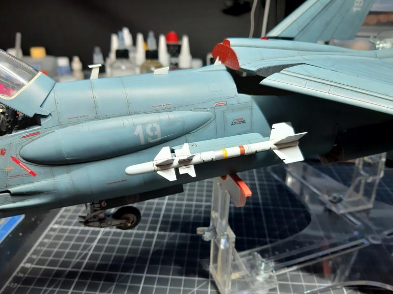 F-8P (FN) Crusader trumpeter 1/32 20210714
