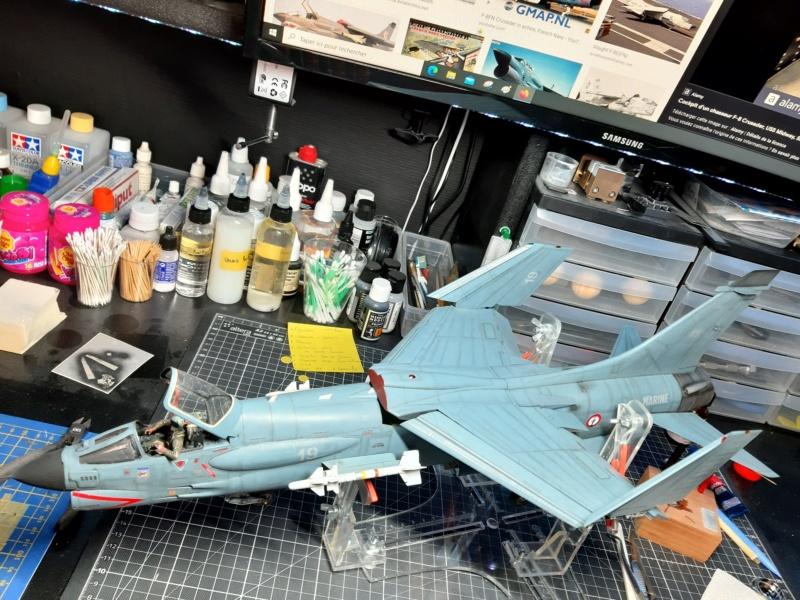F-8P (FN) Crusader trumpeter 1/32 20210717