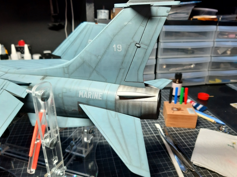 F-8P (FN) Crusader trumpeter 1/32 20210720