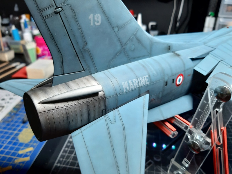 F-8P (FN) Crusader trumpeter 1/32 20210721