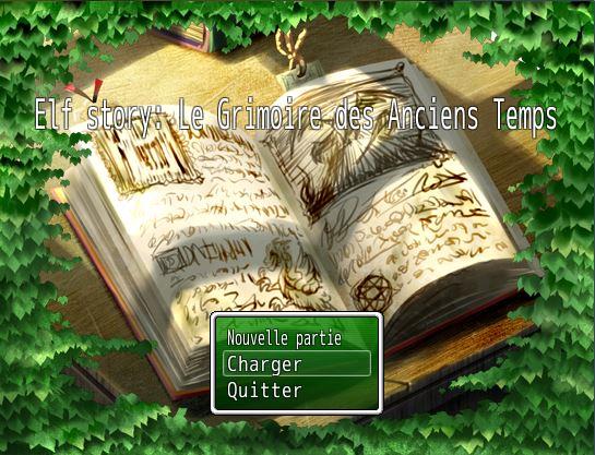 Elf story: Le Grimoire des Anciens Temps Acran_10