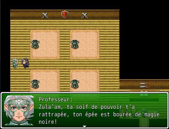 Elf story: Le Grimoire des Anciens Temps Disput10
