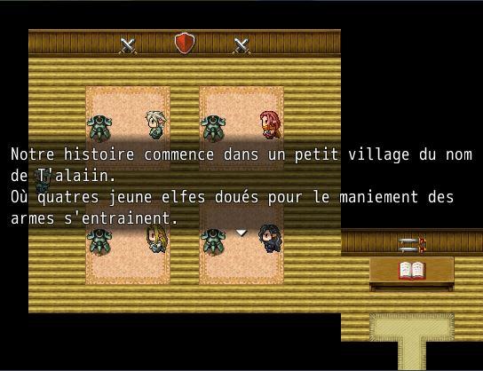 Elf story: Le Grimoire des Anciens Temps Histoi10