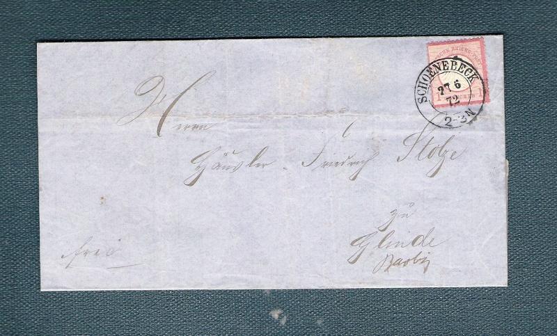 Deutsches Reich 1872 bis 1874 - Brustschildausgaben 410