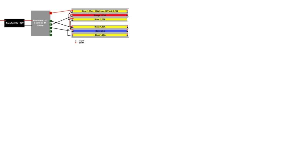 Remplacer T5 par des leds - Mes essais - Page 2 Cablag14