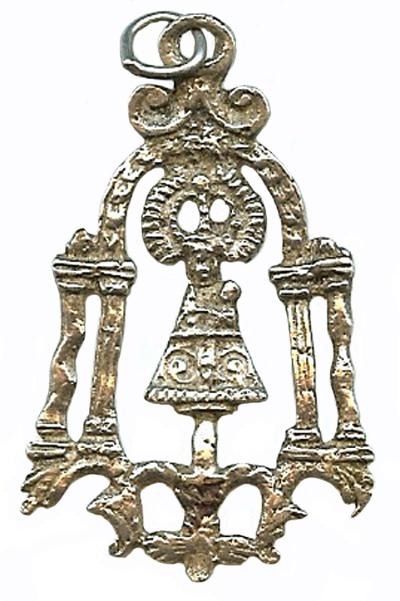 VIRGEN DEL PILAR (Ventana) s.XVIII (R.M. PFV-Pilar 3) Pilar-15