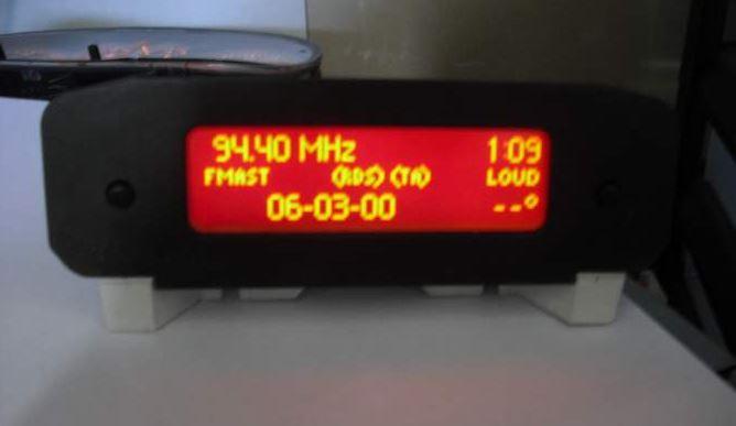 206 1.6 HDI 16S Afficheur Multi fonction Captur10
