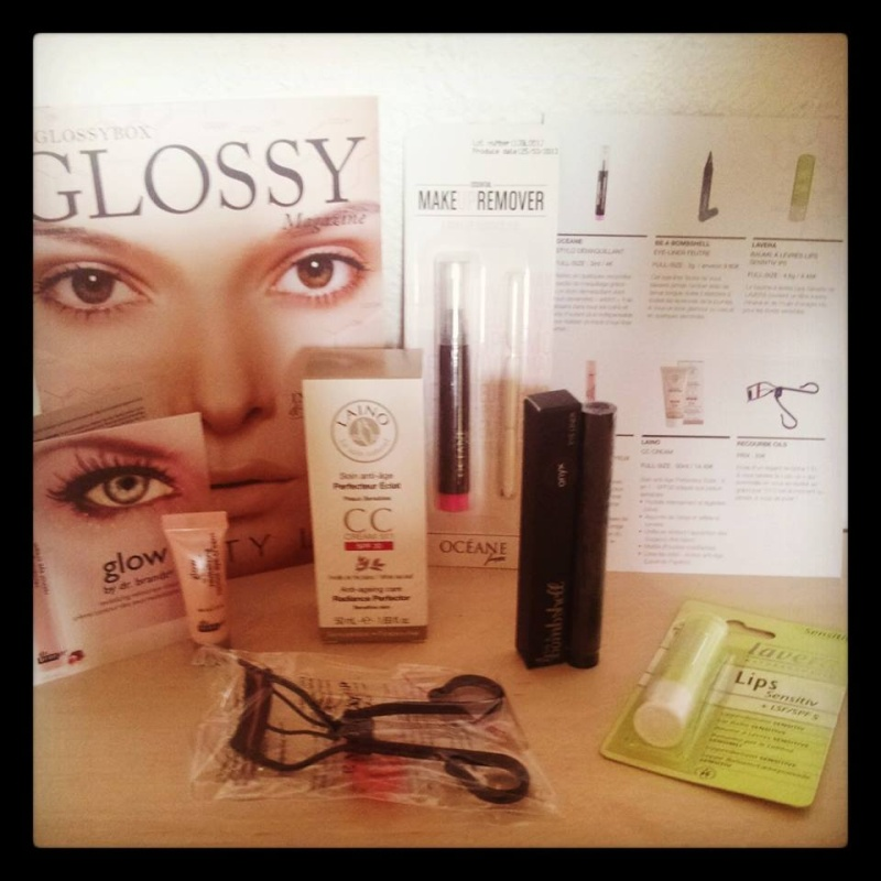 "[Septembre 2013] Glossybox  ""Beauty Lab"" Glossy11"