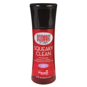 Kong -in style Squeaky Clean Waterless Shampoo Spray  Ppetna10
