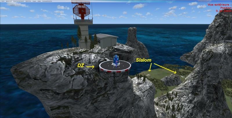 Entrainement sur le base de l'île Constellation 2013-921