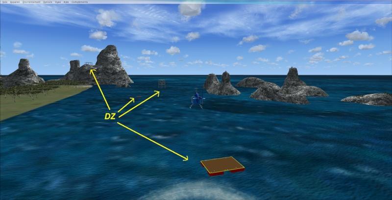 Entrainement sur le base de l'île Constellation 2013-923