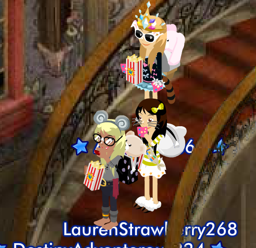 A day at the Haunted House A picture story by Lauren. (Ft. Angel And Destiny.) Popcor10