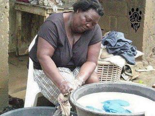 Lavando ropa Lavand10