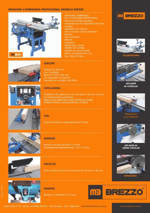 """manual - Busco manual para combinada de carpintería """"KÖMMBERG"""" Maquin10"""