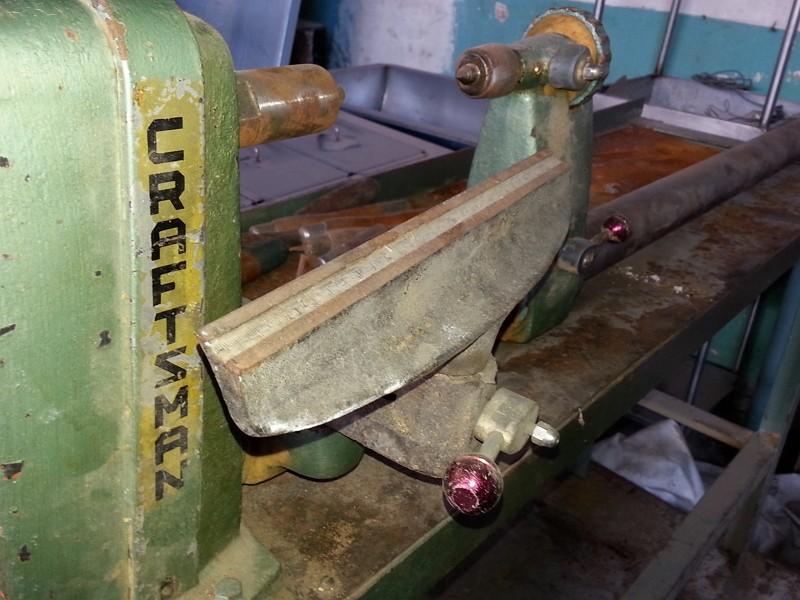 Torno casero para madera, para un fontanero aprendiz Torno_12