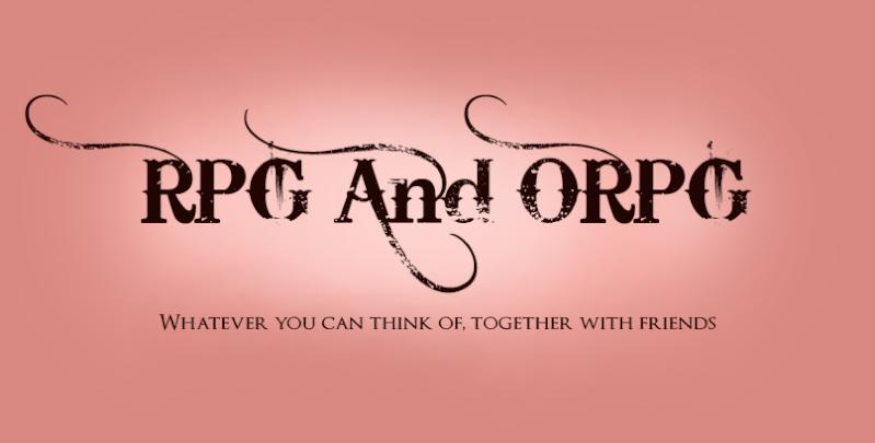 RPG en ORPG forum