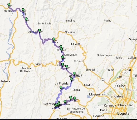 Altimetrías de altos de Colombia Captur25