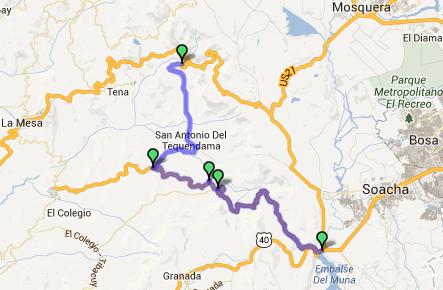 Altimetrías de altos de Colombia Captur79