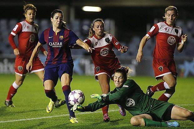 """FC BARCELONA (FEMENINO) FC BARCELONA VS BRISTOL (0-1) CHAMPIONS LEAGUE 14/15 """"EL EQUIPO SE JUEGA MAÑANA SABADO A LAS 19:00 H EN EL MINI EL PASE A CUARTOS DE LA CHAMPIONS 2014/15"""" (VIDEOS) Baryua11"""