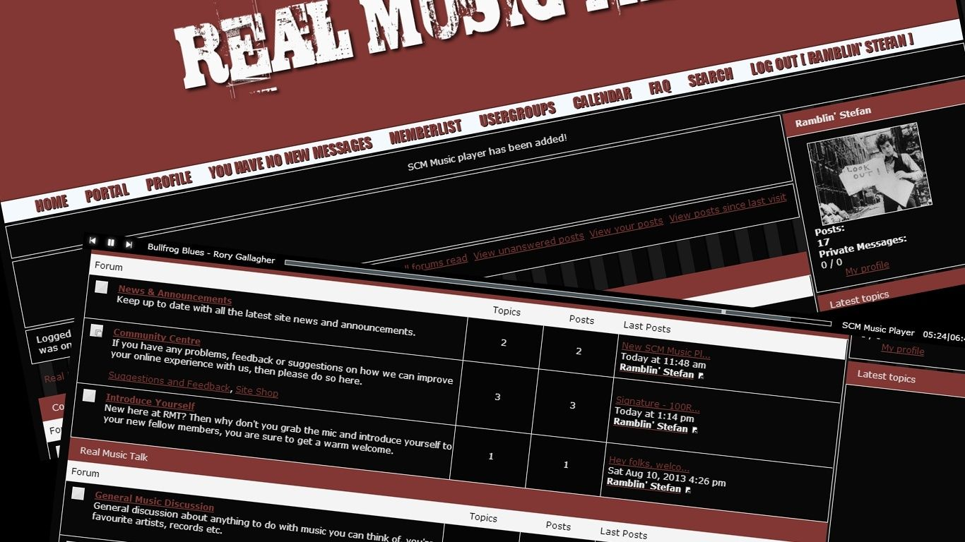 Real Music Talk Screen10