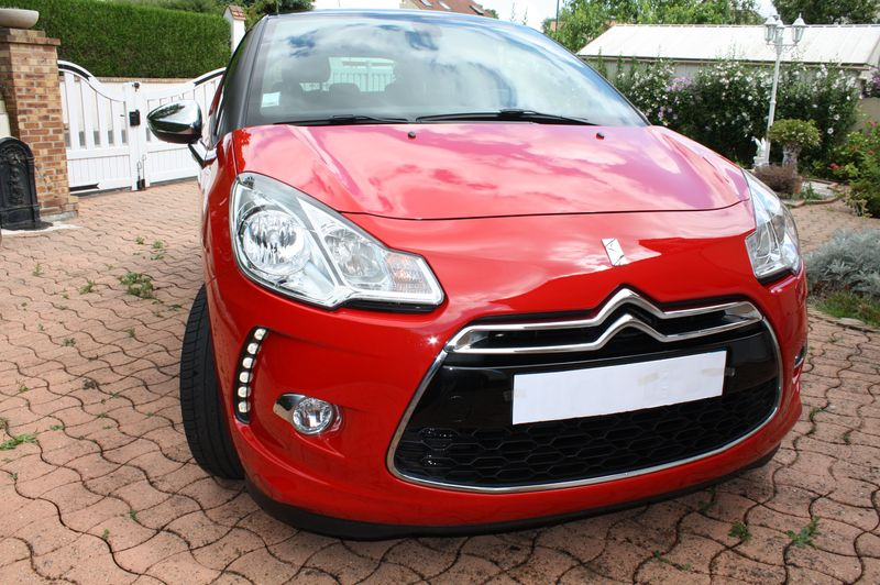 Vend DS3 E-HDI 110 Sport Chic rouge Aden toit Onyx  Img_5522